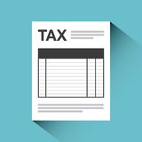 Tax concept. Design, vector illustration eps10 graphic Royalty Free Stock Image