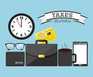 Tax concept Royalty Free Stock Photo
