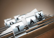 Tax Concept Stock Photos