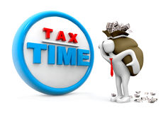 """Tax Concept. """"Tax Concept"""", can be used in business, personal, charitable and educational design projects: it may be used in web design, printed media Stock Image"""