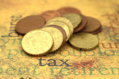 Tax concpet Stock Image