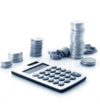 Tax count Royalty Free Stock Image
