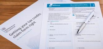 Tax Credits Stock Image