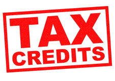 TAX CREDITS Stock Images