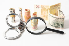 Tax Crime Concept Money Royalty Free Stock Images