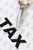 Tax Cut Stock Photos