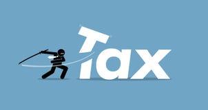Tax cut Stock Image