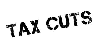 Tax Cuts rubber stamp Royalty Free Stock Photography