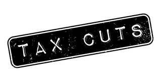 Tax Cuts rubber stamp Royalty Free Stock Photo