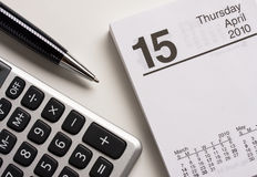 Tax day Royalty Free Stock Image
