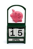 Tax Day Stock Image