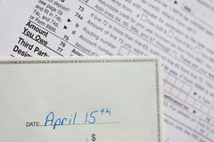 Tax Day Stock Images