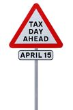 Tax Day Ahead Royalty Free Stock Photography