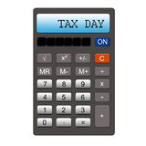 Tax Day Calculator Royalty Free Stock Photos