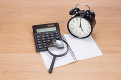 Tax deadline concept Royalty Free Stock Images