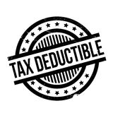 Tax Deductible rubber stamp Royalty Free Stock Photo