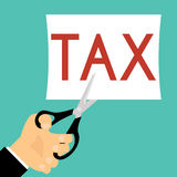 Tax Deduction. Business Concept. Business Royalty Free Stock Photos