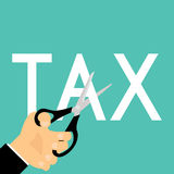 Tax Deduction. Business Concept. Business Royalty Free Stock Images