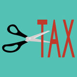 Tax Deduction. Business Concept. Business Royalty Free Stock Image