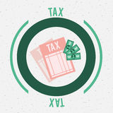 Tax design Stock Photography