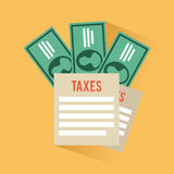 Tax design Stock Images