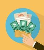 Tax design Stock Photos