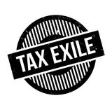 Tax Exile rubber stamp Stock Photos