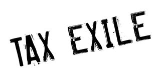 Tax Exile rubber stamp Royalty Free Stock Photos