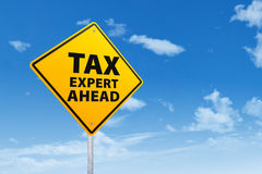 Tax Expert Ahead Stock Photos