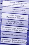 Tax financial advice Royalty Free Stock Photos