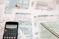 1040 tax form Royalty Free Stock Image