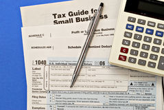 Tax Forms #2 Royalty Free Stock Photography