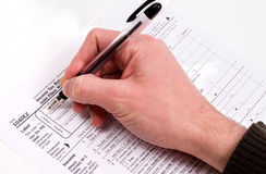 Tax forms. 2006 tax forms stock photo