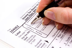 Tax forms. 2006 tax forms stock photography