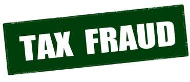 Tax fraud Stock Image