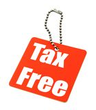 Tax free Royalty Free Stock Photos