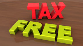 Tax free Stock Images