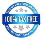 Tax free icon Royalty Free Stock Images
