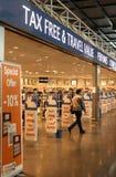 Tax free shop royalty free stock image