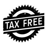 Tax free stamp Stock Photography
