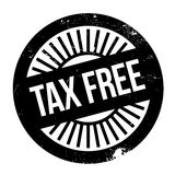 Tax free stamp Royalty Free Stock Photo