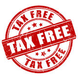 Tax free Stock Image