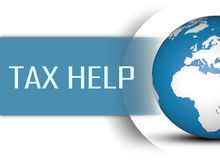 Tax Help Royalty Free Stock Photo