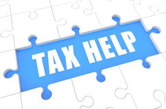 Tax Help Stock Photo
