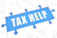 Tax Help Stock Photo