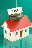 Tax home Royalty Free Stock Images