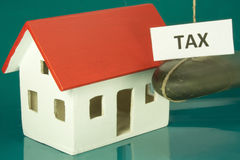 Tax home Stock Photos