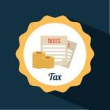Tax icon Stock Photos