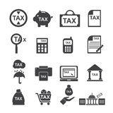 Tax  icon Royalty Free Stock Photo