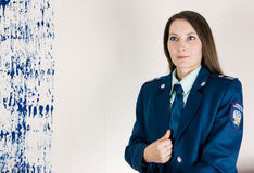 Tax inspector of Russian Federation Stock Image